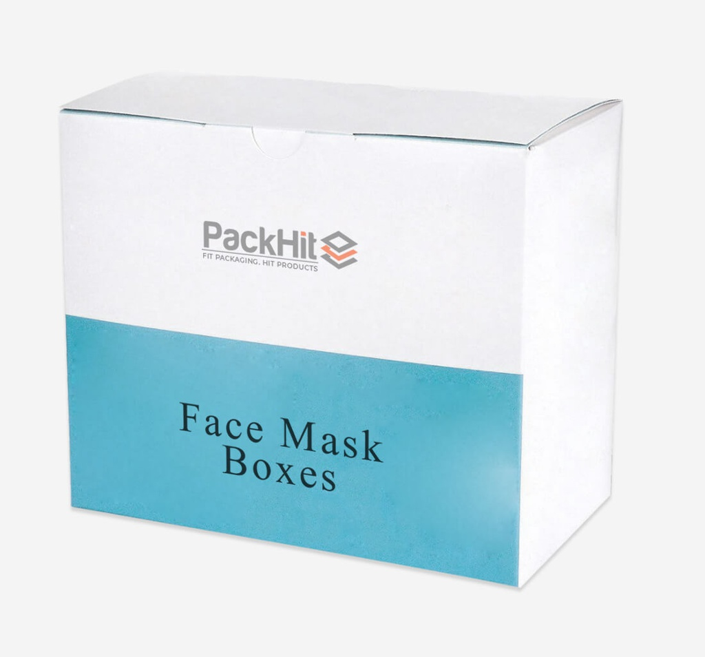 Custom Printed Face Mask Boxes