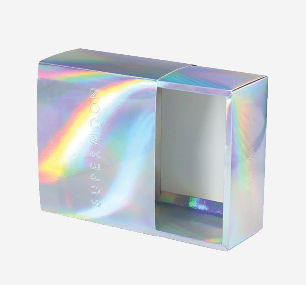 Metalized Holographic Packaging Boxes