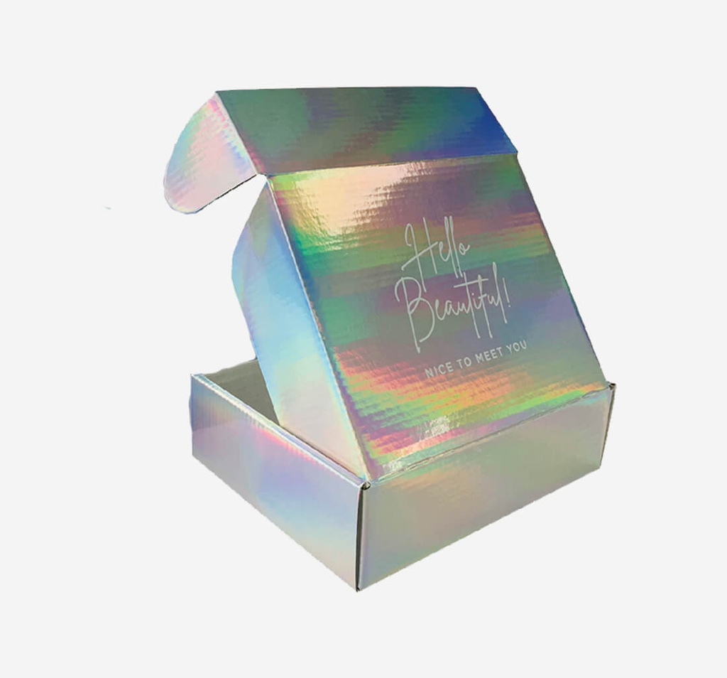Metalized Holographic  Boxes