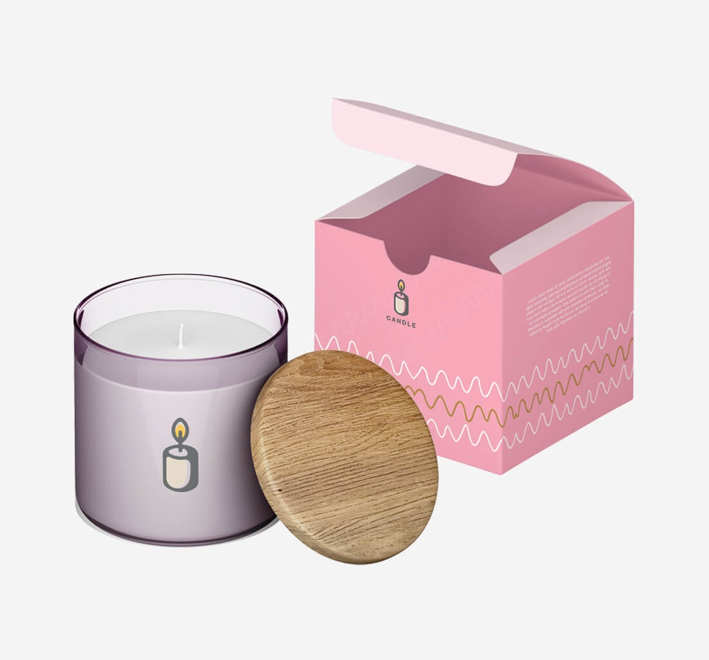 Candle Boxes with Logo