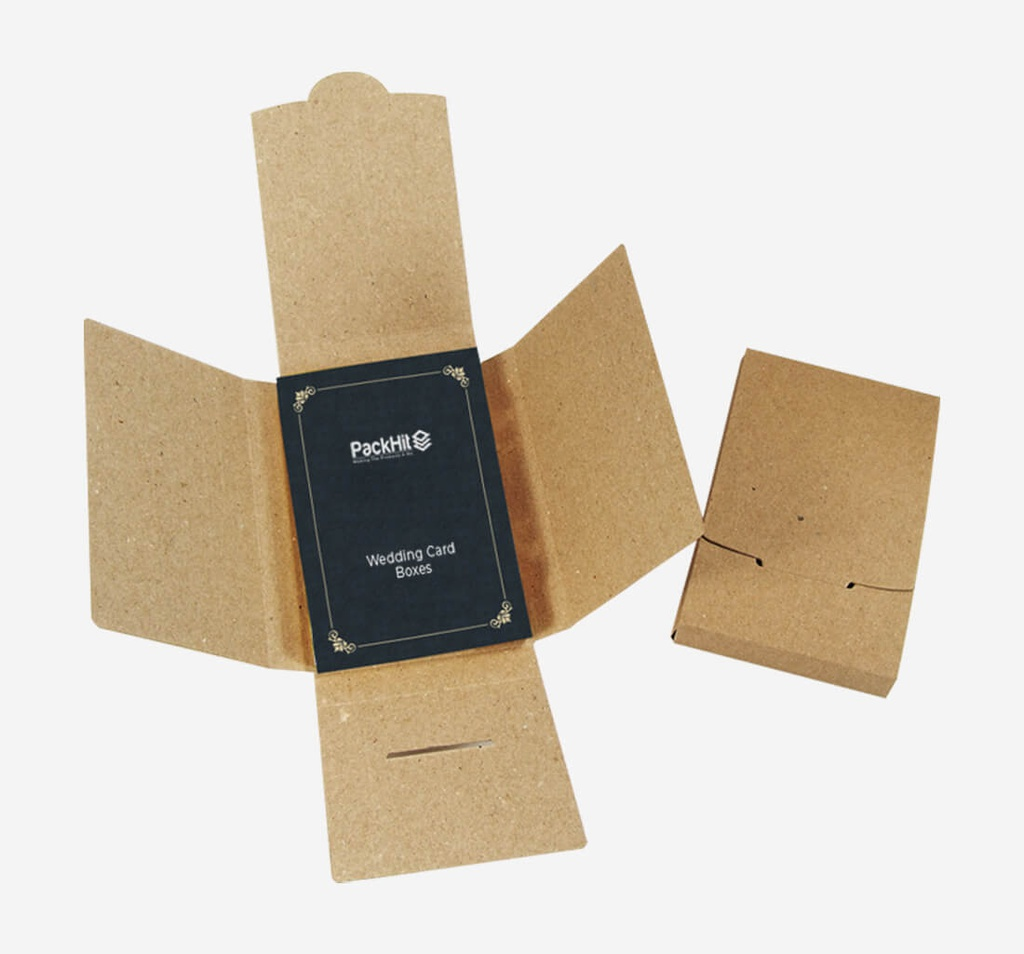 Wedding Card Packaging Boxes