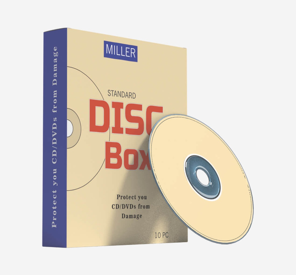 CD / DVD Packaging Boxes