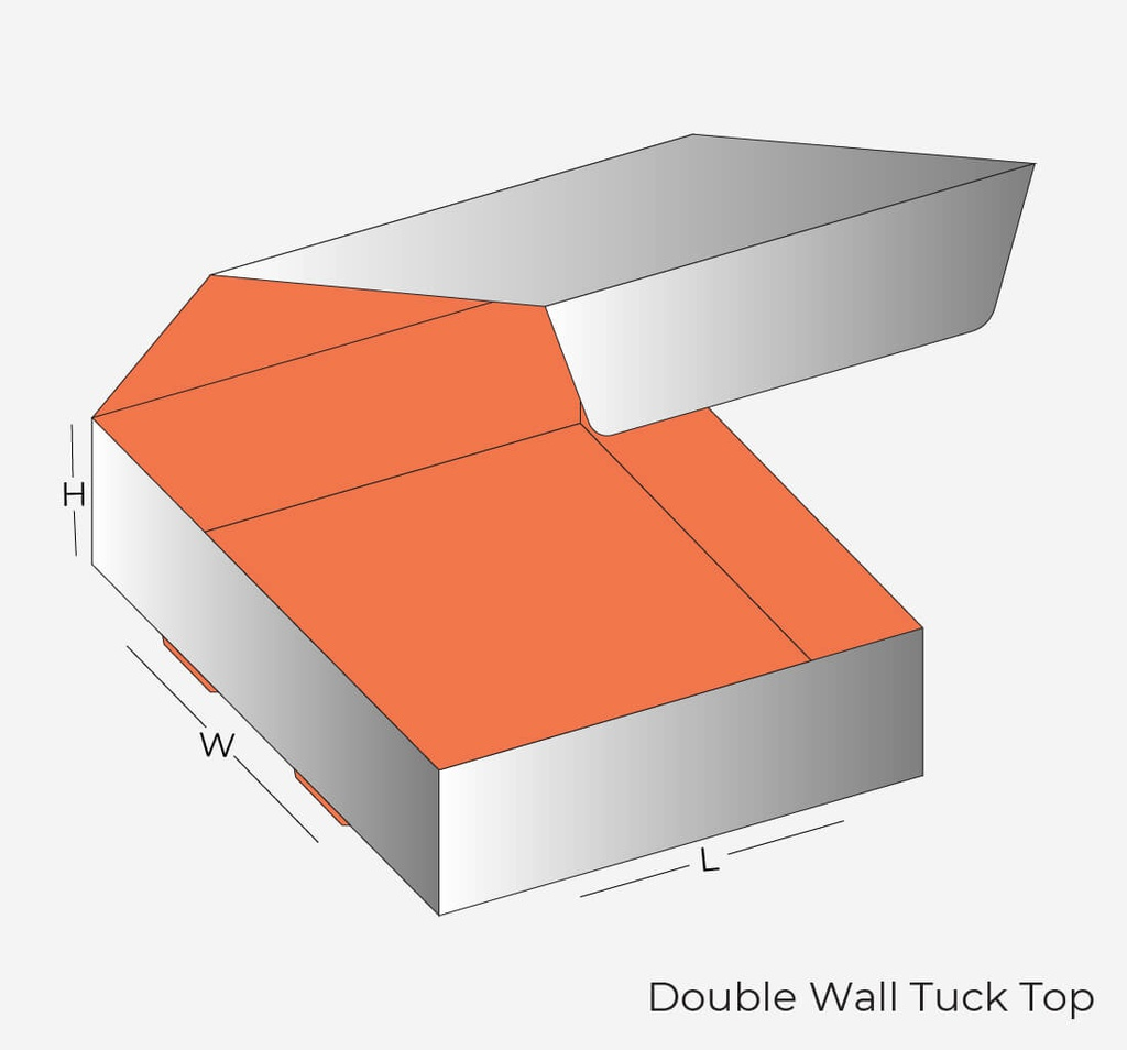 Double Wall Tuck Top Wholesale