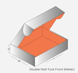 Double Wall Tuck Front Mailer